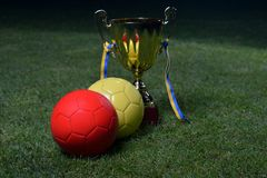 Soccer cup Royalty Free Stock Photo