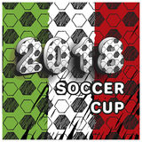 Soccer cup 2018 Royalty Free Stock Photos