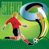 Soccer Design Stock Images