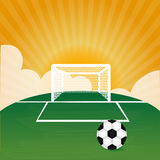 Soccer design Royalty Free Stock Photo