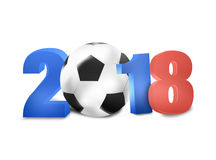 2018 Soccer Design Stock Photography