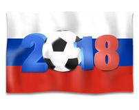 2018 Soccer Design. Creative Graphic Concept Royalty Free Stock Photos