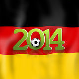 Soccer Design 2014 Royalty Free Stock Photo