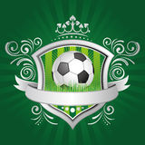 soccer design element Stock Image