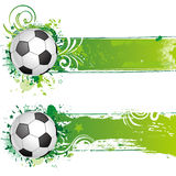 soccer design element Stock Photography