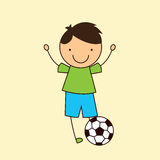 Soccer design Royalty Free Stock Images