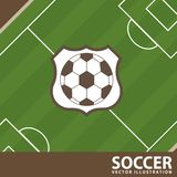 Soccer design Stock Image