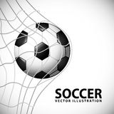 Soccer design Royalty Free Stock Photography