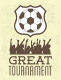 Soccer design Stock Image