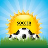 Soccer design Stock Photography