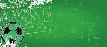 Soccer design template Stock Images
