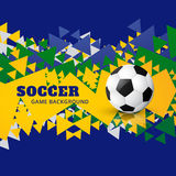 Soccer design vector Royalty Free Stock Photography