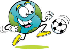 Soccer Earth Stock Photo