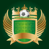 soccer emblem Royalty Free Stock Photos