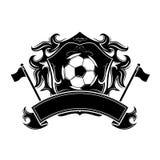 Soccer emblem Stock Photo