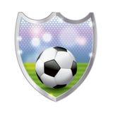 Soccer Emblem Illustration Stock Image