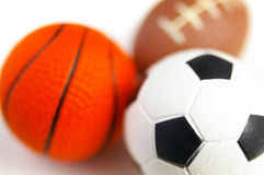 Soccer etc Royalty Free Stock Images