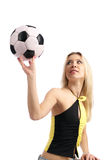 Soccer fan Royalty Free Stock Photos