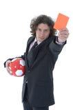 Soccer fan Royalty Free Stock Photos