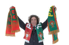 Soccer fan Stock Photos