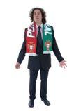 Soccer fan Royalty Free Stock Image