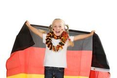 Soccer fan Stock Photo