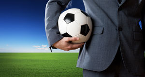 Soccer fan Royalty Free Stock Image