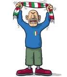 Soccer fan Italy Royalty Free Stock Photos