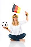 Soccer fan Royalty Free Stock Photography