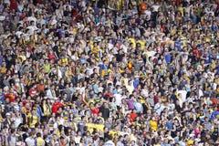 Soccer fans Stock Photos