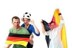 Soccer fans Royalty Free Stock Image
