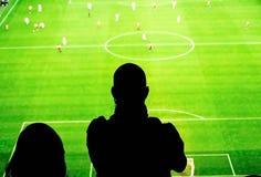 Soccer fans stadium Stock Photography