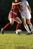 Soccer  Feet & Ball Royalty Free Stock Photos
