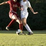 Soccer  Feet & Ball Stock Photos