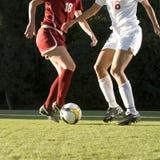 Soccer  Feet & Ball Royalty Free Stock Photography
