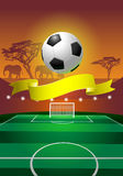 Soccer field Royalty Free Stock Photography