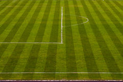 Soccer field. Football soccer field - nature grass background Stock Images