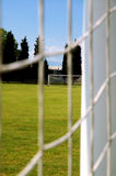Soccer field #2. View on soccer field stock photos