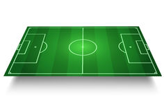 Soccer Field. Soccer/Football Field  3D Stock Photo