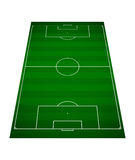 Soccer field. Top view of a soccer field Royalty Free Illustration