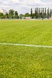 Soccer field Royalty Free Stock Photo