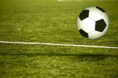 Soccer Field Royalty Free Stock Image