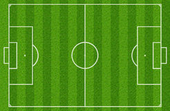 Soccer field. Or football field Royalty Free Stock Photos