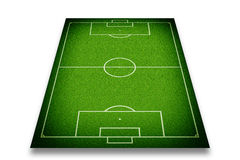 Soccer field. Or football field Stock Image