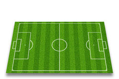 Soccer field. Or football field Stock Images