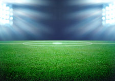 Free Soccer Field Royalty Free Stock Photos - 37689488