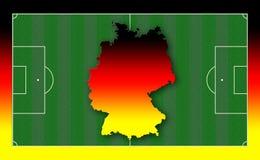 Soccer Field. Illustration Stock Image