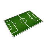 Soccer field Stock Image