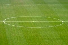 Soccer field. Inside of a stadium Stock Photo