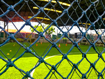 Soccer field. Beside the soccer field royalty free stock images